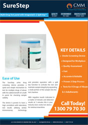 Surestep_8+3_Urine Drug Test Flyer
