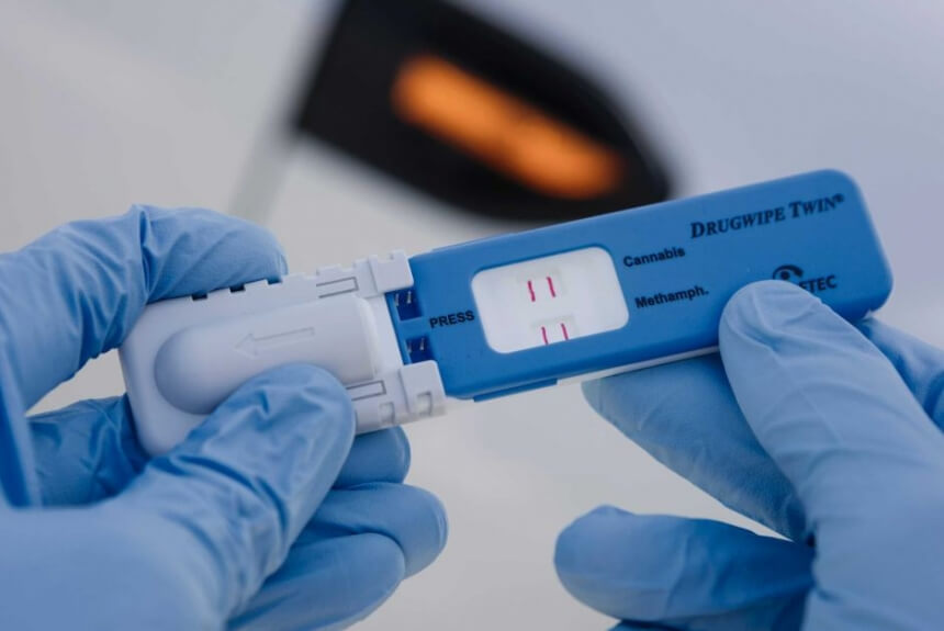 random Drug testing piss